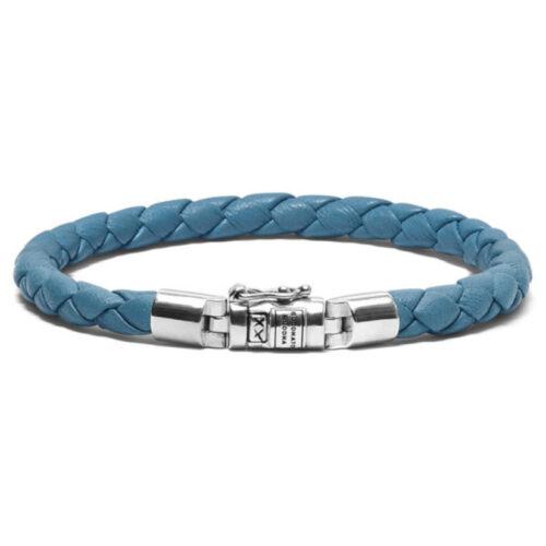 Buddha to Buddha Ben XS Round Leather Santorini Bracelet/Armband