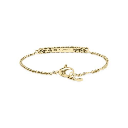 buddha to buddha Davina gold bracelet