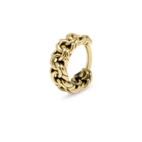 buddha to buddha Davina gold piercing ear helix