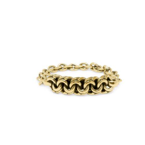 Buddha to buddha Davina gold ring yg front