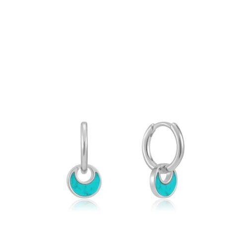 Ania Haie E027-06G Turning Tides Hoop Earrings